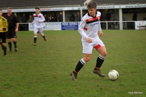 Bailey Jason-Ryan, voted Man of the Match by the Bridgwater VPR team