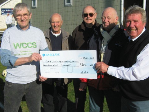 Will Rovers donation received 1
